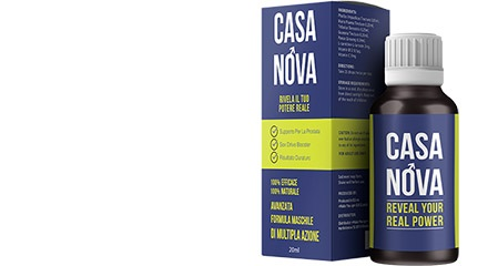Naturalny skład suplementu Casanova
